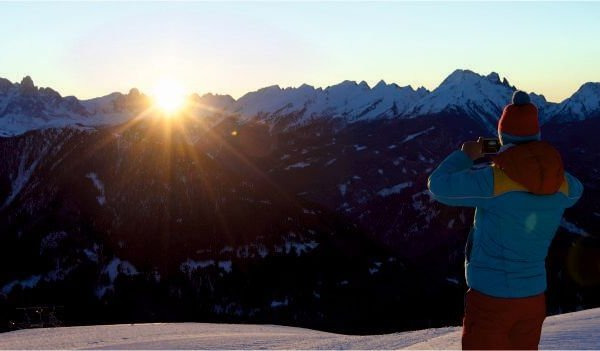 Trentino Ski Sunrise al Passo Feudo
