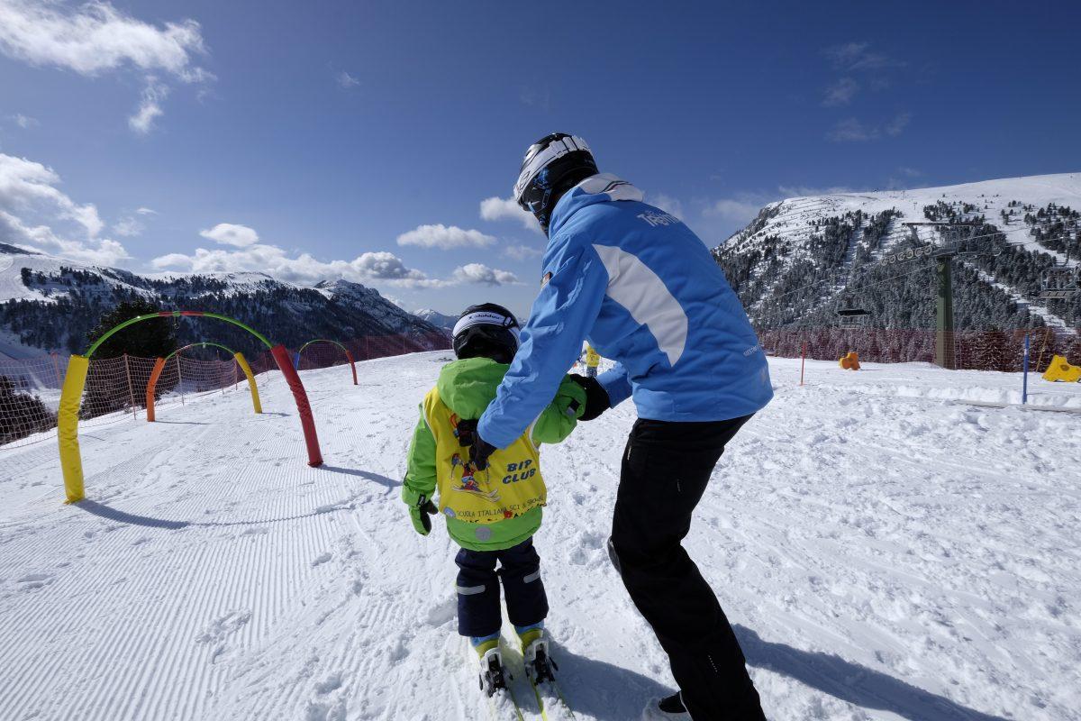 parco giochi sulla neve