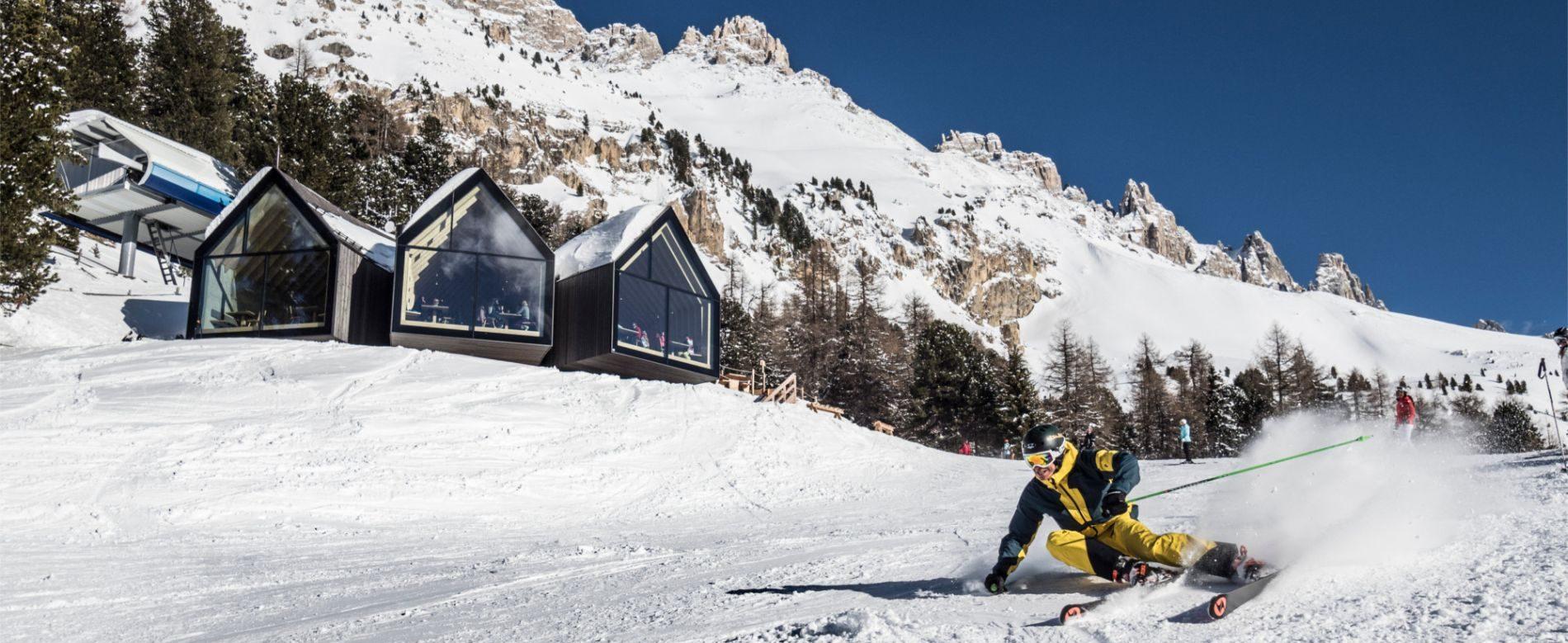 ski resort-sci-e-piste-ski-center-latemar-obereggen trentino alto adige