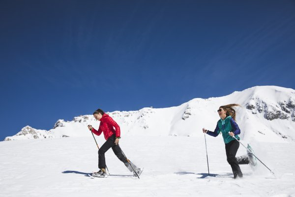 Camminata Ciaspole Ski Center Latemar